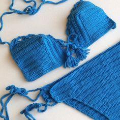 2015 Trends Summer Fashion Crochet Bikini Mykonos by senoAccessory