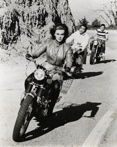Ann Margaret on the move.