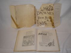 1915 The Brownies Their Book by Palmer Cox Hardcover by daddydan, $479.95