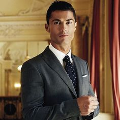 Portuguese soccer star Cristiano Ronaldo.
