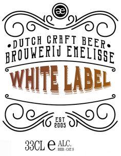 Nederland : Emelisse White Label Imperial Doppelbock Bruichladdich 11% 33cl