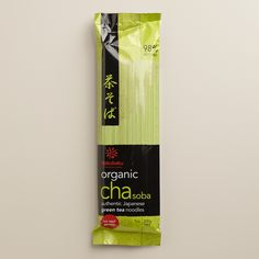 Hakubaku Organic Cha Soba Noodles, Set of 10 | World Market