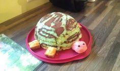 Tortue chocolat rhubarbe