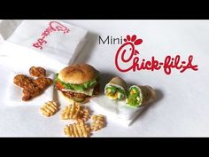 Chick-Fil-A Inspired Miniatures - Polymer Clay Tutorial - YouTube