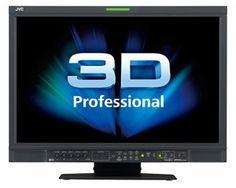 """JVC DT-3D24G1 LCD 24"""" 3D Monitor HD,16:9"""