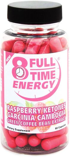 Full-Time Energy Super Pill with Raspberry Ketones Garcinia Cambogia Green Coffee Bean Extract Fat Burners - Extreme Diet Pills ...
