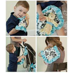 Baby lovey / burb cloth / plushie blanket