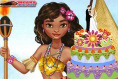 Moana Düğün Pastası,prenses Moana için unutulmaz bir etkinlik yapmaya var mısın? Hazırız diyorsan Moana için çok özel bir doğum günü pastası yap