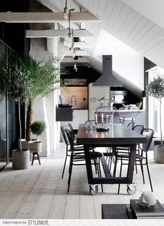 Contemporary interior design – More Interior Trends To Not Miss. 31 Stylish Interior Ideas For Starting Your Home Improvement – Contemporary interior design – More Interior Trends To Not Miss. Industrial Apartment, Attic Apartment, Industrial Chic, Industrial Design, Industrial Kitchens, Industrial House, Industrial Lighting, Vintage Industrial, Apartment Ideas
