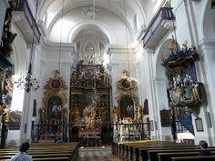 Maria Plain Basilica - located near Salzburg, Austria is a famous pilgrimage site.