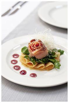 #łosoś #rose #róża #salmon #melon