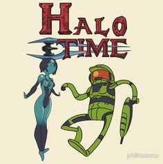 It's Halo time come on grab your friends...