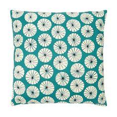 Home Collection Basics - Turquoise dandelion print cushion Throw Rugs, Throw Pillows, Printed Cushions, Home Collections, Interior Inspiration, Dandelion, Turquoise, Debenhams, Range