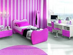 purple and pink bedroom ideas for girls - Bing Images