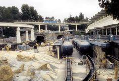 Submarine ride at Disneyland