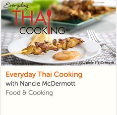 Turn Thai cooking techniques — and a well-stocked pantry — into fast, healthy and satisfying weeknight meals! Whip up quick curry, easy pad thai, satisfying stir-fry and more. Thai Cooking, Cooking For Two, Healthy Cooking, Healthy Recipes, Crockpot Recipes, Cooking Recipes, Online Cooking Classes, Cake Decorating Classes, Easy Weeknight Dinners