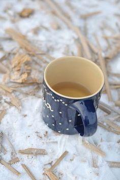 tea when it's snowing <3