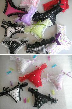 Remember gift for lingerie tea - little pillow pants