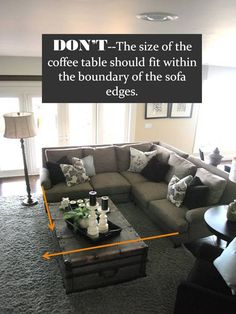 Living Room Layout with Sectional Furniture Arrangement. Beautiful Living Room Layout with Sectional Furniture Arrangement. Sectional Round sofa Center Piece Like This Arrangement Sectional Sofa Layout, Living Room Sectional, New Living Room, My New Room, Living Room Furniture, Living Room Decor, Sectional Sofas, Sectional Furniture, Small Living