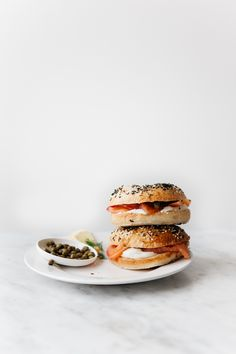 sprouted flour bagel