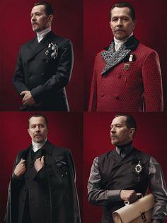 Gary Oldman - Prada - Men's Fall/Winter 2012-13 campaign