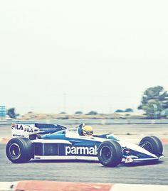 Ayrton Senna - Brabham test
