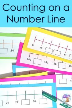 Fill in the missing numbers on these 60 number line strips that deal with counting forwards and backwards by 1's, 2's, 5's, and 10's. Grade 1, 2, and 3 students will get practice skip counting at a this hands-on math center.
