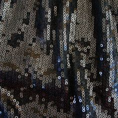 Hi Tech - Black/Black - Solid Stone Fabrics #fabric #sequins #stretchfabric #cheer #cheerbows #dance #sequinfabric
