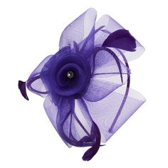 Natasha Jeweled Rosette Fascinator #VonMaur