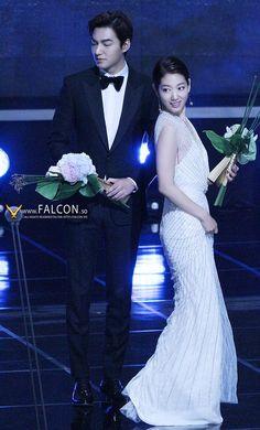 Lee Min Ho and Park Shin Hye | Baeksang Art Awards 2015