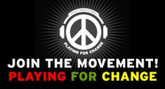 "Stand By Me | Playing For Change | -----------Song Around the World   From the award-winning documentary, ""Playing For Change: Peace Through Music"", comes the first of many ""songs around the world"" being released independently. Featured is a cover of the Ben E. King classic by musicians around the world adding their part to the song as it travelled the globe.   Join the movement!     http://www.youtube.com/watch?v=Us-TVg40ExM=email"