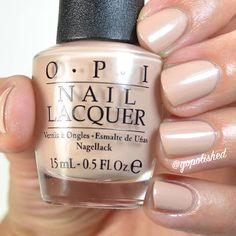 Pale to the Chief a nude polish with silvery pearly shimmer. New from the OPI Washington DC Collection 2016 (Fall/ Winter). Nail Lacquer, Opi Nail Polish, Opi Nails, Nail Candy, Fancy Nails, Give It To Me, Washington Dc, Fall Winter, Nude