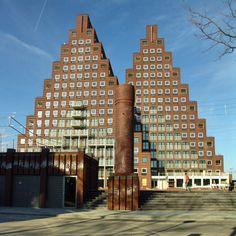 Pyramid housing, Amsterdam, 2006, Soeters Van Eldonk.  Source http://www.mimoa.eu/projects/Netherlands/Amsterdam/The%20Pyramids/
