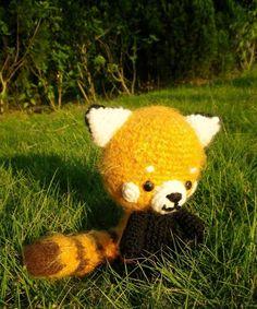 red panda stuff animal2