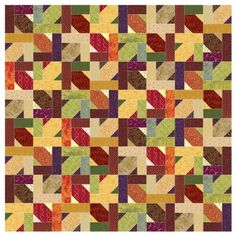 Tessellation Blues Quilt - Page 2 Floral Quilts, Blue Quilts, Jellyroll Quilts, Scrappy Quilts, Pattern Blocks, Quilt Patterns, Autumn Quilts, Tesselations, Rug Hooking