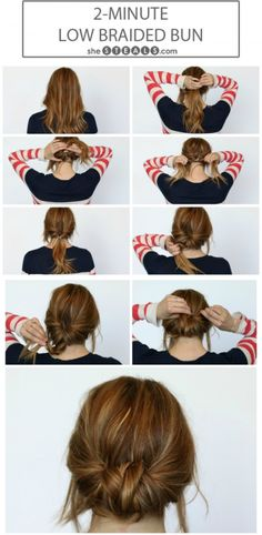 15 Simple Yet Stunning Hairstyle Tutorials for Lazy Women