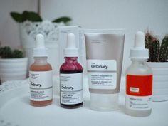 The Ordinary Acid Skincare Regime for All Skintypes #skincareroutine Via @melanie_voyer www.MelanieVoyer.com