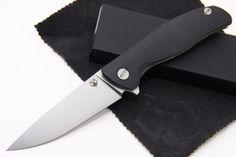 Shirogorov-F3-S30V-G10-3D-black-folding-knife-w-bearings-Best-Russian-Knives