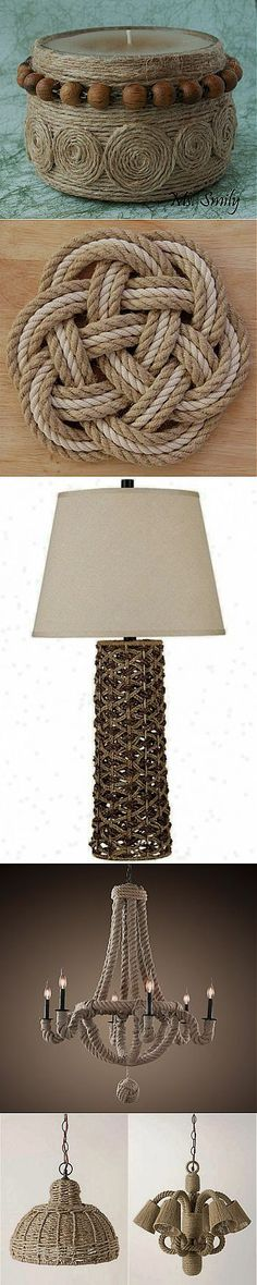 Macrame lighting. Верёвочный декор - Лавка мастеров | прочие поделки своими руками, различные техники | Постила