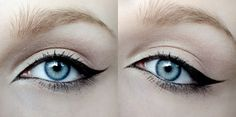 My makeup obsession, exaggerated cat eye liner