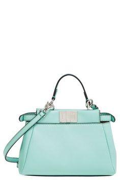 5fd328a28e Fendi Fendi  Mini Peekaboo  Nappa Leather Bag available at ...