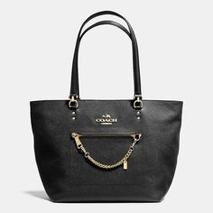 TOWN CAR TOTE IN CROSSGRAIN LEATHER