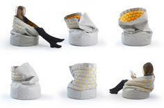 Snug, Kumeko, floor cushion, comfortable seating, Kumeko designs