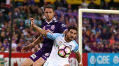 Melbourne City credits 'nutcase' Dino Djulbic for Perth's elimination final win