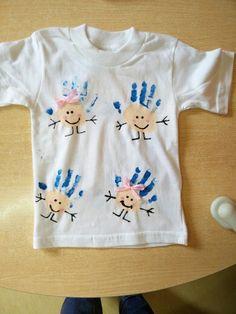 T-shirt dia da criança terminada (frente)