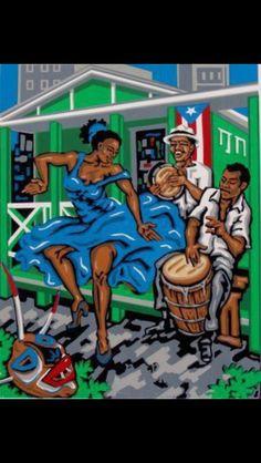 Mi cultura mi tierra -  Puerto Rican  culture