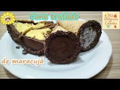 Cone Trufado de Chocolate Prestigio - Fácil de Vender - YouTube