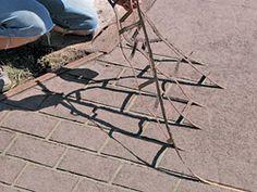 remove concrete stencil