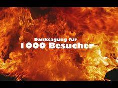 Danksagung fuer 1000 Besucher