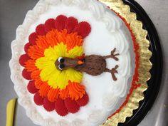 Turkey decoration on a Cake